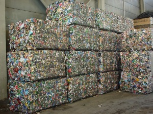 Blog - Pressed aluminum cans