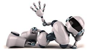 Blog - Robot laying down