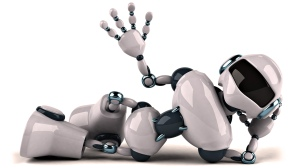 Blog - Robot laying down