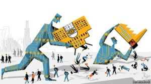 Blog - Robots dumping people